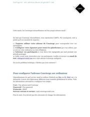 tutoriel mail concierge 1