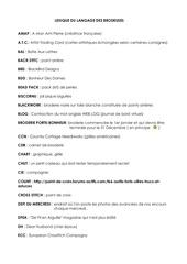 lexique du langage des brodeuses