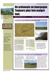 un ardennais en bourgogne journal mensuel mars 2014