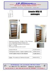 armoire wsa amenagee