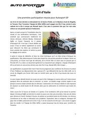 Fichier PDF newsletter 12hmugello