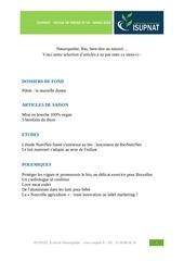 revue presse isupnat mars 2014