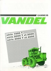 Fichier PDF vandel gamme 85