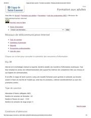 Fichier PDF listes de cours