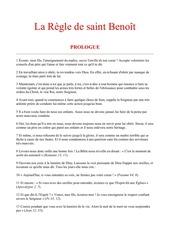 Fichier PDF regle st benoit