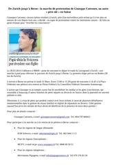 petition pour le droit des enfants