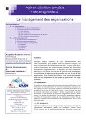 note 2 management organisations