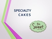 specialty cakes 2014