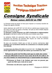 consigne syndicale ter rame agc pbo