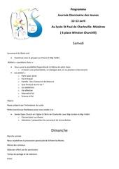 programme et details pratiques journees diocesaine des jeunes