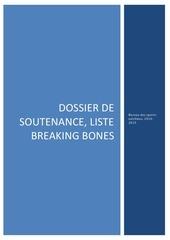 soutenance finale breaking bones