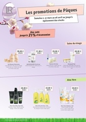 promotion paques 31 mars 6 avril