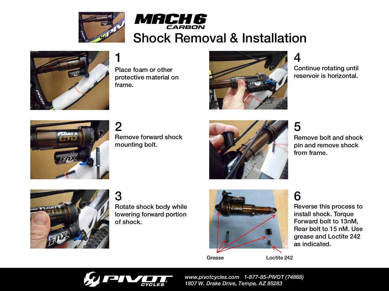 Aperçu du document Mach 6 Shock Install & Removal.pdf - page 1/1