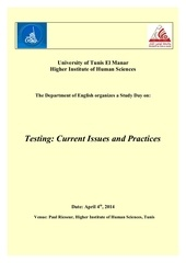 programme of the study day on testing 4th april 20