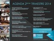 agenda 2eme trimestre 2014