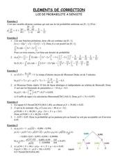 loi de probabilite a densite correction