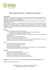 profil poste apprenti inra 2014 vf