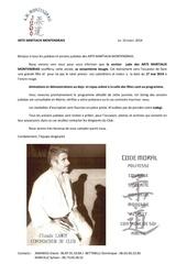 invitation generale des 60 ans des arts martiaux montendrais