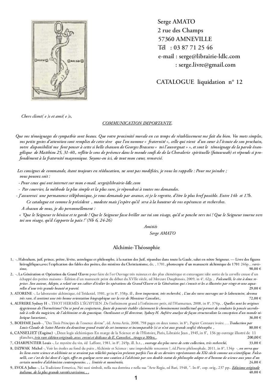 Mise En Page 1 Liste 12 Pour Envoi Pdf Fichier Pdf