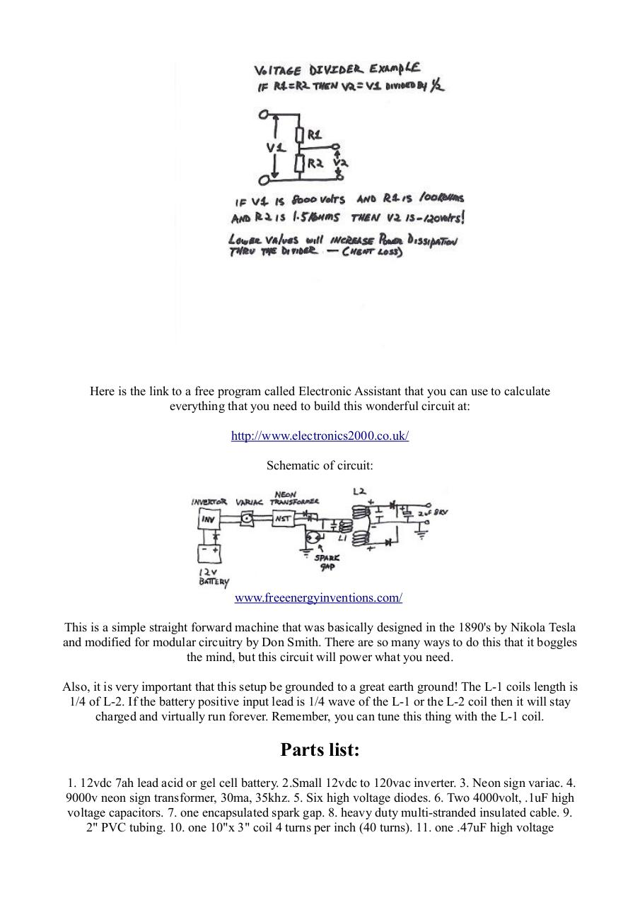 2kw Free Energy Device Don Smith Fichier Pdf Neon Sign Transformer Schematic Smithpdf Page 4 5