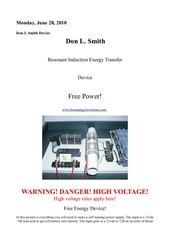2kw free energy device don smith