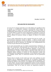 declaration de solidaroe csi