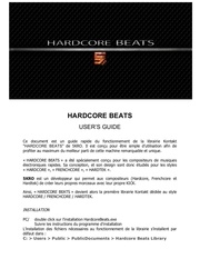 Fichier PDF hardcore beats users guide