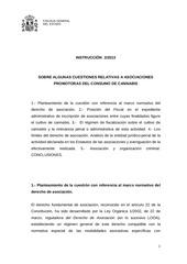 instrucciones de la fiscalia del estado sobre asociaciones cannabicas