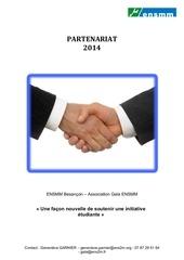 plaquette gala ensmm 2014