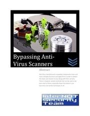 Fichier PDF bypassinganti virusscanners