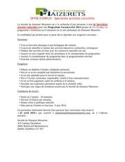 Fichier PDF domaine maizerets specialiste aux act culturelles