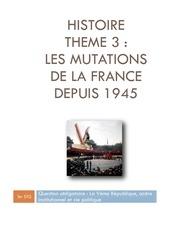 hist t 3 les mutations de la france depuis 1945