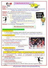 projet 03 comprehension de l ecrit lecture entraenement sequence 01
