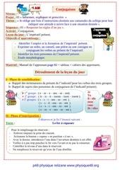 projet 03 conjugaison sequence 01