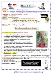 projet 03 lecture plaisir sequence 01