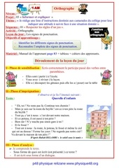 projet 03 orthographe sequence 01