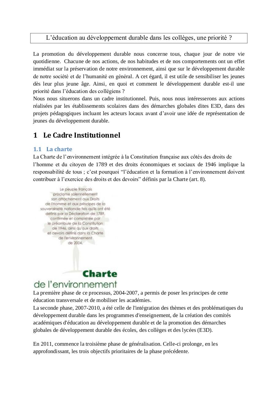 l education au developpement durable dans les colleges.pdf - page 1/4