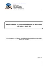 rapport annuel aed 2012