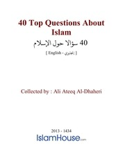 Fichier PDF en 40 top questions about islam