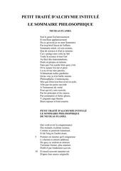 Fichier PDF le sommaire philosophique nicolas flamel