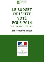 chiffres cles budget etat lfi 2014