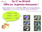 offre privilege avril chaussures 1