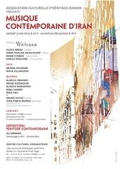 affiche du concert et exposition 3 mai 2014 1