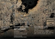 ffiche exposition sarmadi 3 mai 1