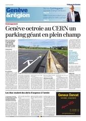 parking cern