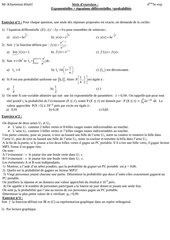 serie d exercices bac sc exp 2