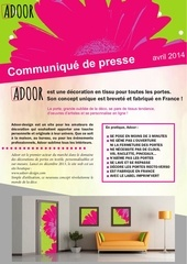 adoor communique de presse avril 2014 1
