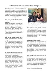 Fichier PDF interview nothing