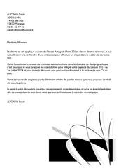 lettre de motivation sarah alf 1
