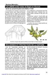 protection des cretes